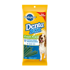 PEDIGREE<sup>MD</sup> DentaStix<sup>MD</sup> Frais chiens moyens emballage de 7