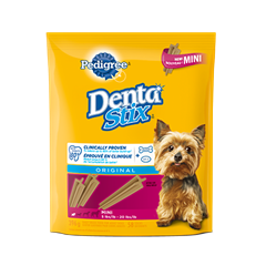 PEDIGREE<sup>MD</sup> DentaStix<sup>MD</sup> Mini emballage de 58