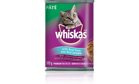 WHISKAS<sup>®</sup> Pate with Real Tuna
