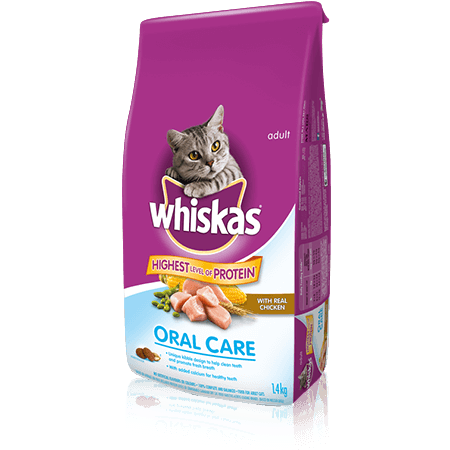WHISKAS<sup>®</sup> Oral Care