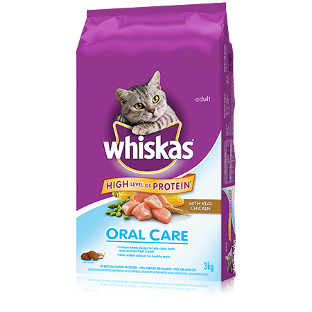 WHISKAS<sup>&reg;</sup> Oral Care