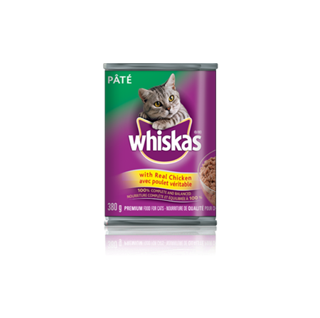 WHISKAS<sup>®</sup> Pate with Real Chicken