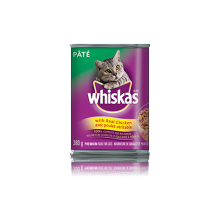 WHISKAS<sup>&reg;</sup> Pate with Real Chicken