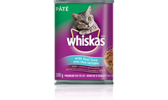 WHISKAS Pate with Real Tuna