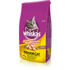 WHISKAS® Indoor Cat with Chicken
