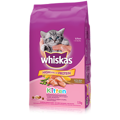 WHISKAS® Kitten with Chicken