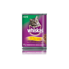 WHISKAS Pate with Real Chicken