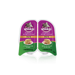 WHISKAS® PERFECT PORTIONS™ Chicken & Liver Entrée