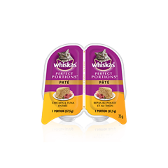 WHISKAS® PERFECT PORTIONS™ Chicken & Tuna Entrée
