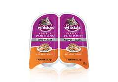 WHISKAS Perfect Portions™ Cuts in Gravy Chicken Entrée
