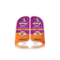 WHISKAS® PERFECT PORTIONS™ Chicken Pate Entrée