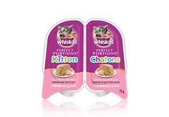 WHISKAS® Perfect Portions™  Kitten Chicken Pate Entrée