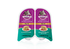 WHISKAS® Perfect Portions™ Paté Seafood Entrée