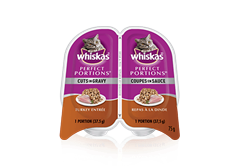 WHISKAS® Perfect Portions™ Cuts in Gravy Turkey Entrée