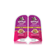 WHISKAS® PERFECT PORTIONS™ Whitefish & Tuna Pate Entrée