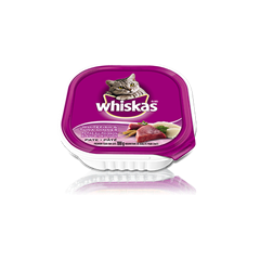 WHISKAS® SEAFOOD SELECTIONS® Whitefish and Tuna Dinner Pate