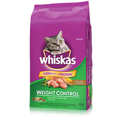 WHISKAS® Weight Control with Chicken