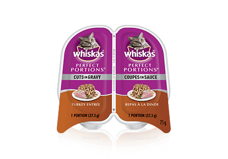WHISKAS Perfect Portions<sup>MC</sup> repas à la dinde
