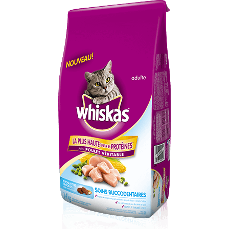 WHISKAS Soins buccodentaires
