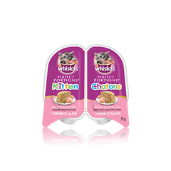 Repas au poulet pour chatons WHISKASMD PERFECT PORTIONSMD