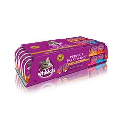 WHISKASMD PERFECT PORTIONSMC format variété 24 unités