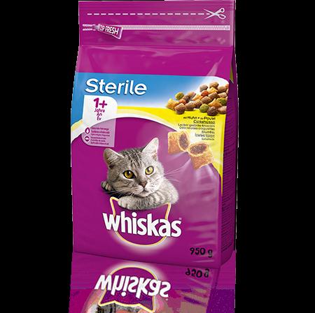 Whiskas 1+ Sterile Poulet