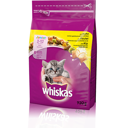 Whiskas Junior Poulet