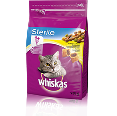 Whiskas<sup>®</sup> 1+ Sterile Poulet