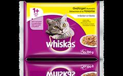 Whiskas<sup>®</sup> Sélection à la Volaille en Gelée