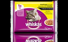 Whiskas<sup>®</sup> Sélection à la Volaille en Sauce