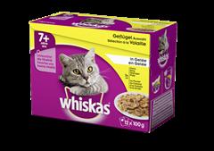 Whiskas® 7+ Sélection à la Volaille en Gelée