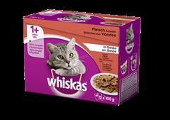 Whiskas<sup>®</sup> Seléction aux Viandes en Gelée