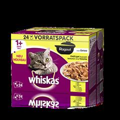 Whiskas® Ragout en Gelée Sélection à la Volaille 24x85g