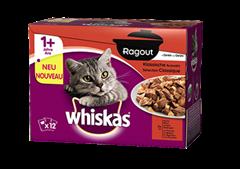 Whiskas® Ragout en Gelée Sélection Classique 12x85g