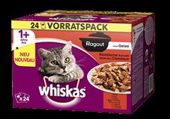 Whiskas® Ragout en Gelée Sélection Classique 24x85g
