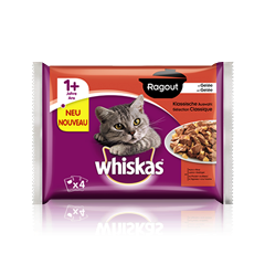 Whiskas® Ragout en Gelée Sélection Classique 4x85g