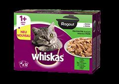 Whiskas® Ragout en Gelée Sélection Mixte 12x85g