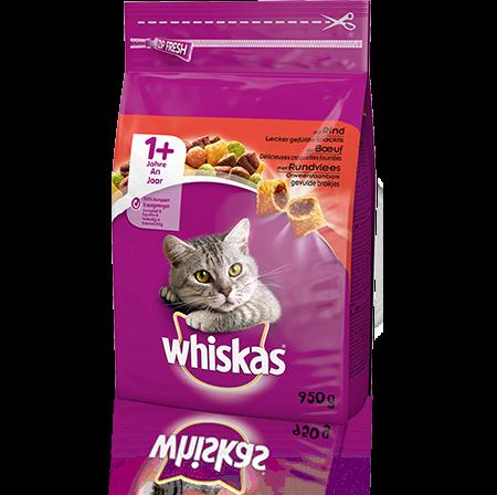 Whiskas 1+ Rind