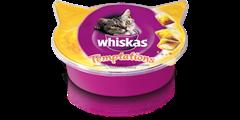 Whiskas<sup>®</sup> Temptations mit Huhn und Käse