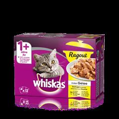 Whiskas<sup>®</sup> Ragout in Gelée Geflügel Auswahl 12x85g