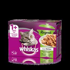 Whiskas<sup>®</sup> Ragout in Gelée Gemischte Auswahl 12x85g