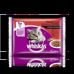 Whiskas® Fleischauswahl in Sauce