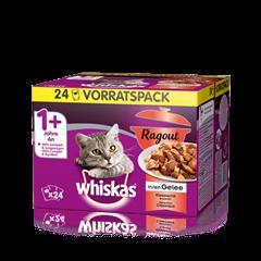 Whiskas<sup>®</sup> Ragout in Gelée Klassische Auswahl 24x85g