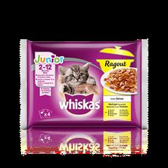 Whiskas® Ragout Junior Geflügel Auswahl