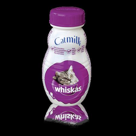 WHISKAS pochoutky Mléko pro kočky 200ml