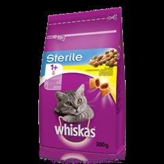 WHISKAS® granule Sterile s kuřecím 300g