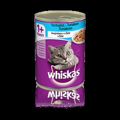 WHISKAS® konzerva v želé s tuňákem 400g
