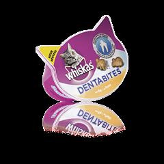 WHISKAS® pochoutky Dentabites s kuřecím 40g