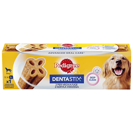 PEDIGREE®® DENTASTIX™ 2 per uge Large
