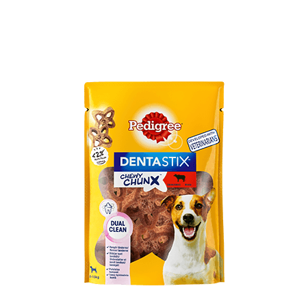 Pedigree® DentaStix™ Chewy Chunx™ Mini - Okse